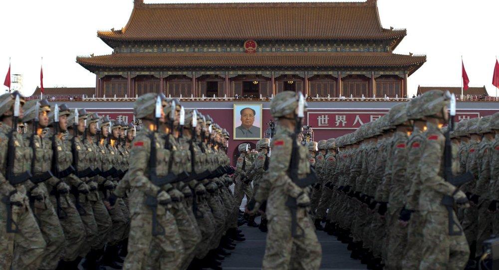 普京抵达北京阅兵现场