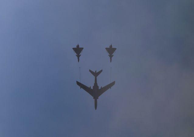 中国大陆战机在演习时飞近台湾