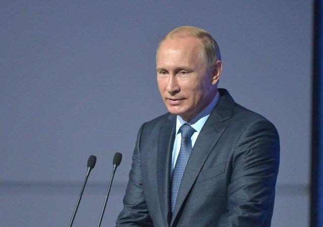 """普京:""""俄石油天然气""""将为""""红星""""造船综合体投资600亿卢布"""