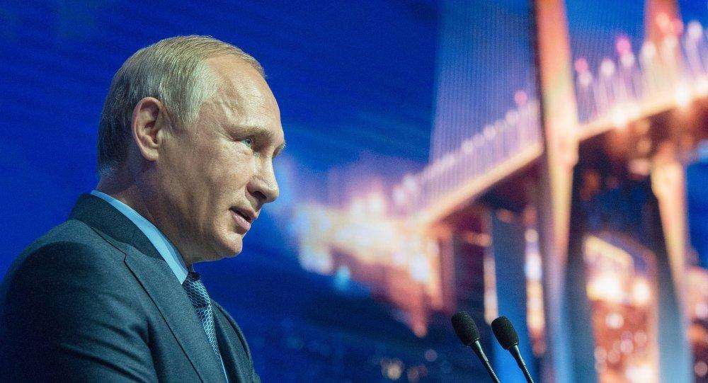 普京期望中国对远东地区经济项目感兴趣