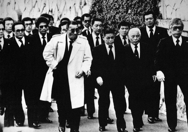 """日本""""黑帮""""在分裂后又形成了新的犯罪组织"""