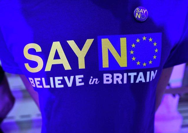 调查:大多数英国公民2014年首次赞成退出欧盟