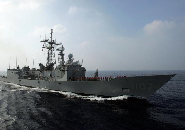 越南外交部抗议台湾在南沙群岛海域军演