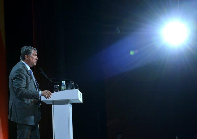 俄石油总裁:石油市场远景与俄罗斯、委内瑞拉和伊朗有关