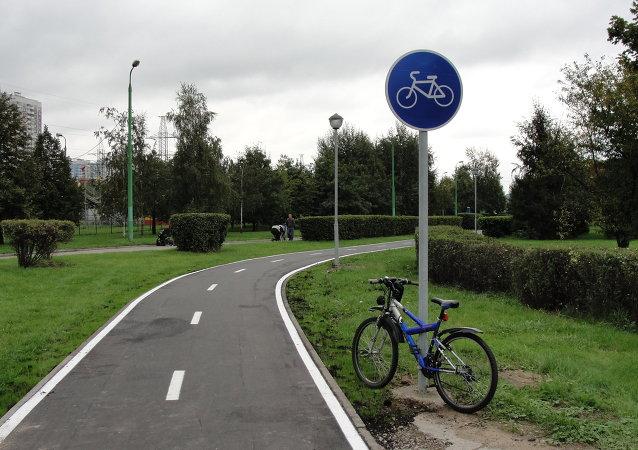 """中国""""永安""""公司在布拉戈维申斯克建立公共自行车租赁系统"""