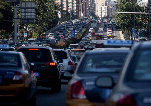 9∙3阅兵后北京连日来交通拥堵严重