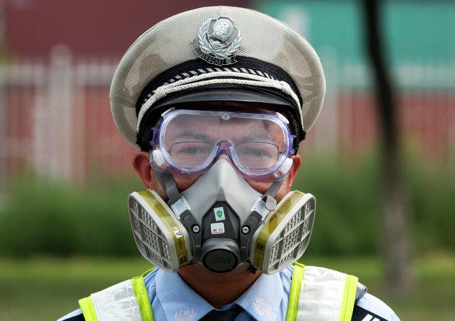 媒体:中国浙江一化工厂发生爆炸 现场燃烧物为甲醇