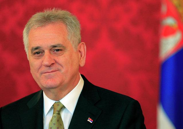 塞尔维亚总统托米斯拉夫•尼科利奇