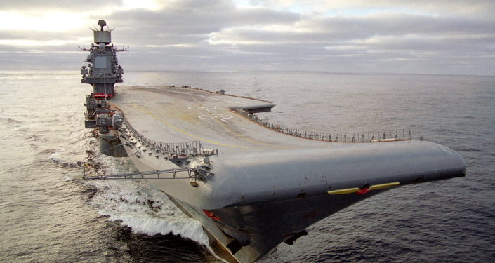 """俄唯一航母""""库兹涅佐夫海军上将""""号维修后还可服役20年"""