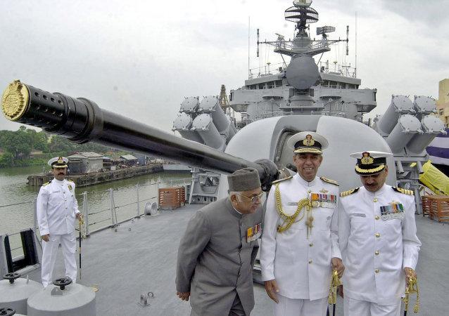 印度国防部:印度与澳大利亚正在启动首次联合海军演习
