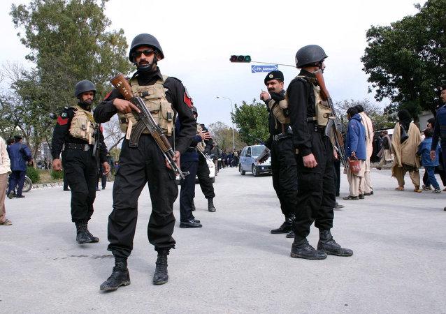巴基斯坦安全部隊