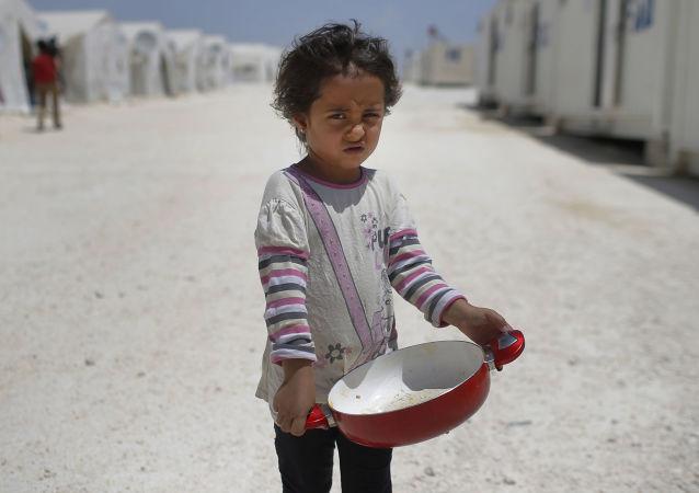 叙利亚孩子/资料图片/