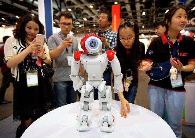 第一届中国机器人运动大赛今日在常州隆重开幕