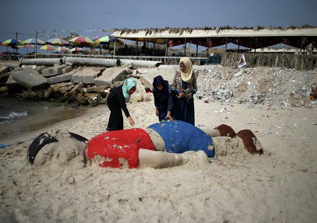 """叙利亚死亡儿童父亲称儿子的漫画""""很可怕"""""""