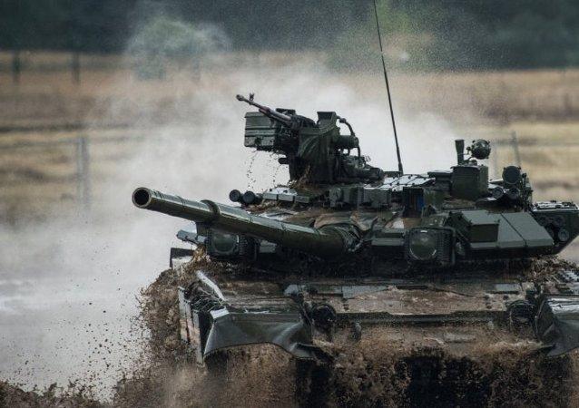 如在叙交锋 T-90将完胜艾布拉姆斯