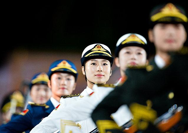 中国军事文化周框架内美术作品展在莫斯科开幕