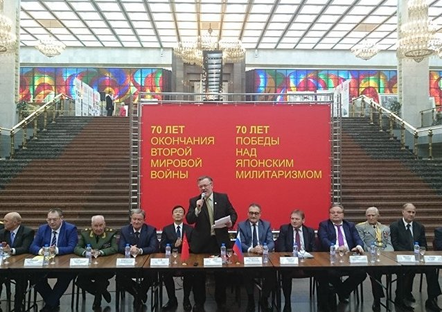 俄中纪念二战胜利70周年