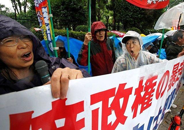 日本议会通过扩大自卫队境外行动授权的法案