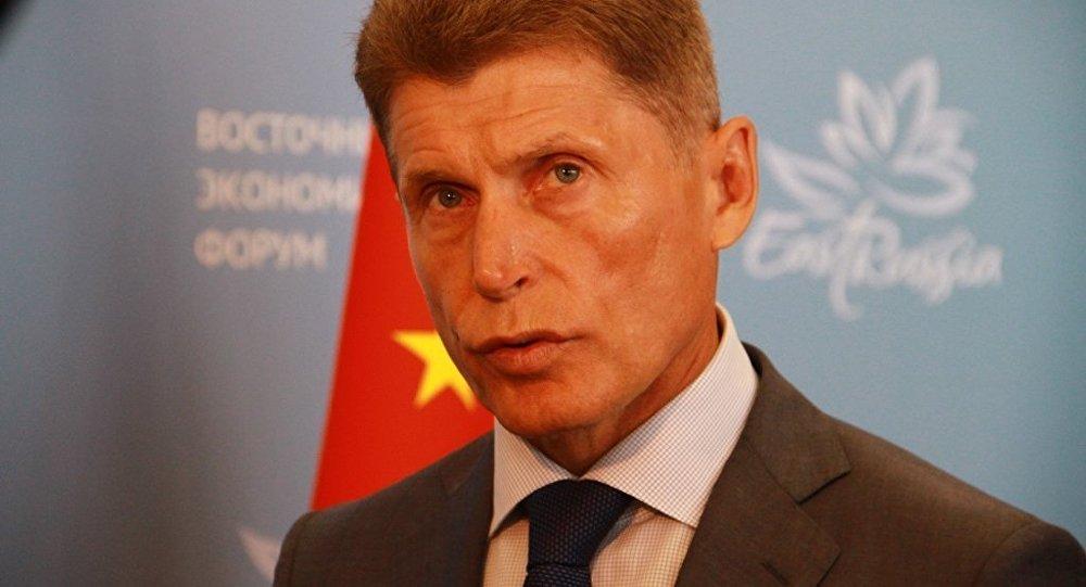 萨哈林州州长奥列格·科热米亚科