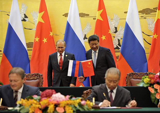 普京:俄中友好委员会为发展两国合作做贡献