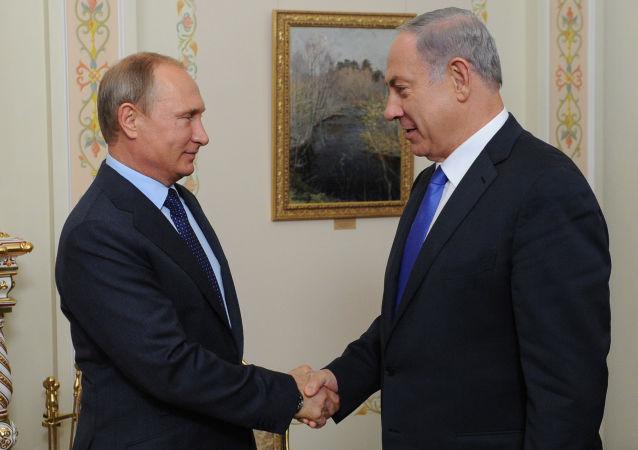 俄以领导人表示愿为促进中东安全加强互动