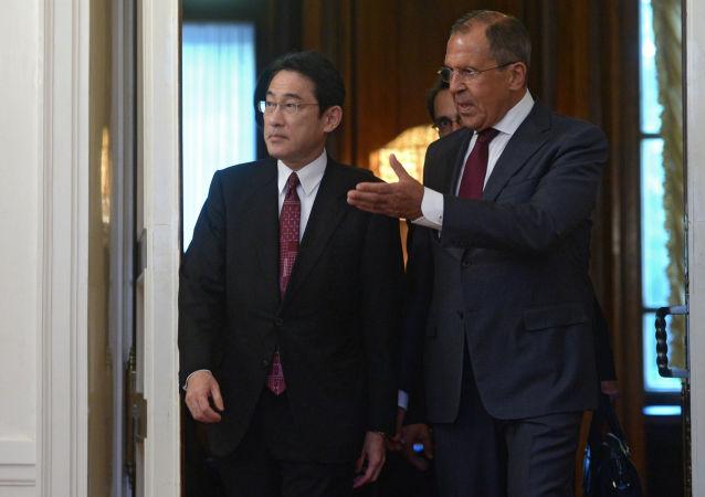 日外相称俄日应以可接受的形式解决岛屿问题并达成和约