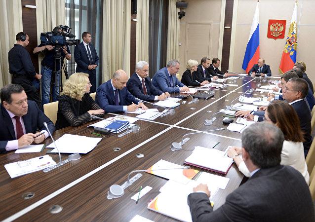 普京周一将主持召开五月总统令执行委员会会议
