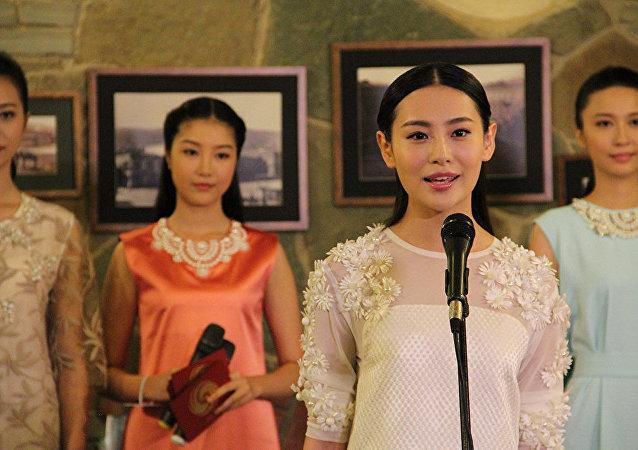 中华小姐环球大赛半决赛在第比利斯举行