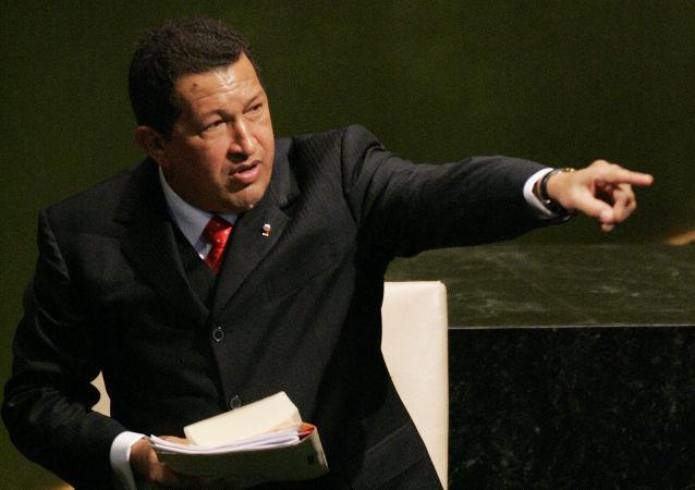 委内瑞拉前总统查韦斯