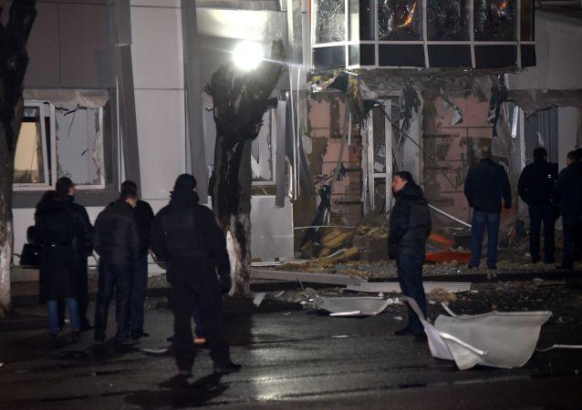 """乌内务部新闻局:乌克兰已根据""""恐怖""""条款对敖德萨爆炸事件立案"""