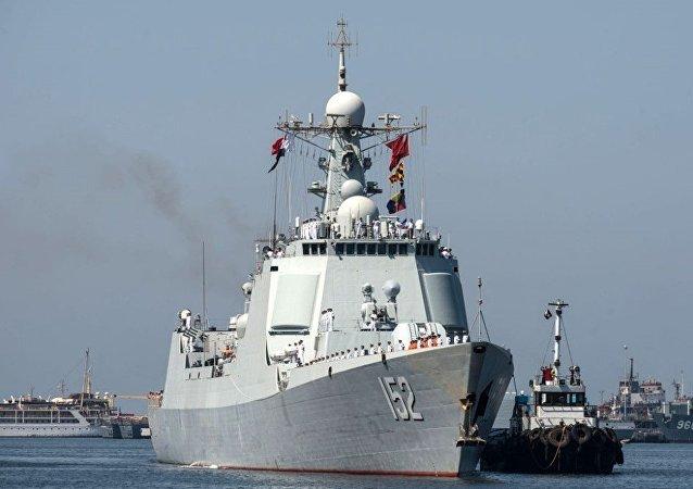 中国并向叙利亚海岸派出自己的军舰的消息纯属谣传
