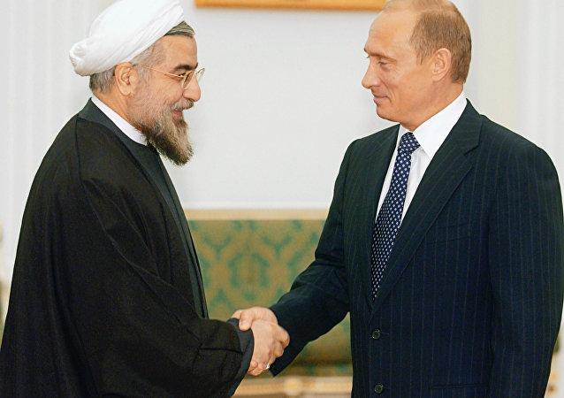普京与鲁哈尼通电话讨论叙利亚停火协议和阿斯塔纳会晤筹备工作