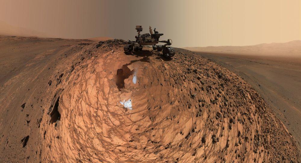 NASA拟2021年在火星上放飞迷你直升机