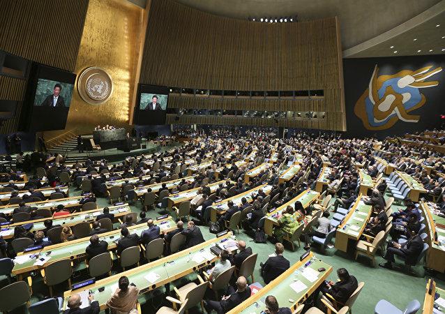 纽约联合国成立70周年一般性辩论进入第二天
