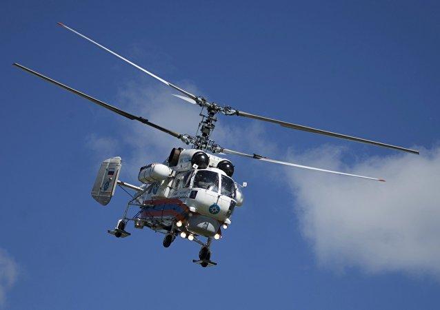 """""""俄罗斯直升机""""公司向江苏宝利供应一架卡-32A11BC救援直升机"""