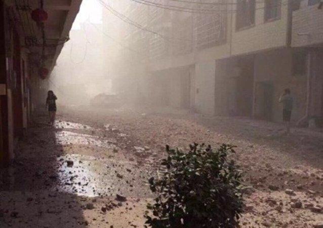 香港媒体:广西柳城县早上再有爆炸