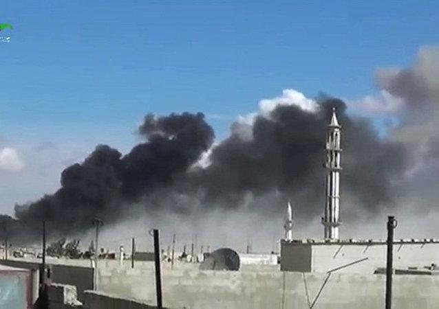 埃及外交部:俄空天部隊在敘利亞的行動有助於根除在該國的恐怖主義