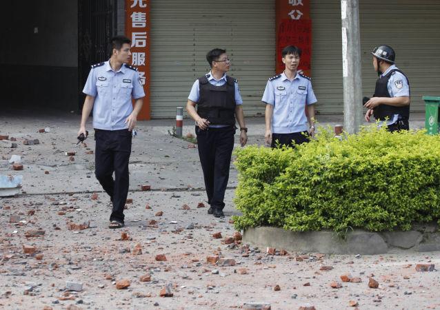 柳城县爆炸嫌疑人被捕