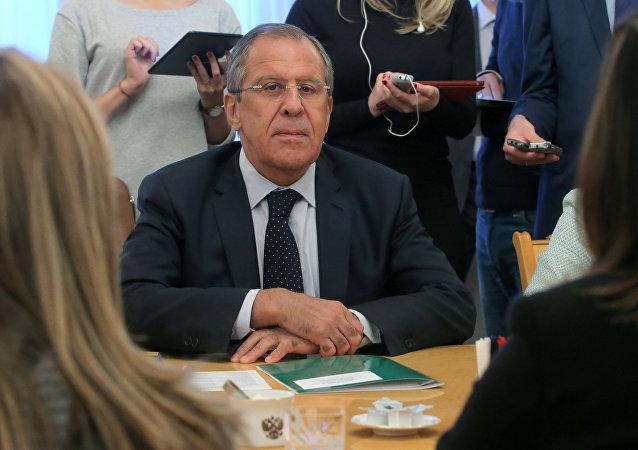 俄罗斯外交部长谢尔盖•拉夫罗夫