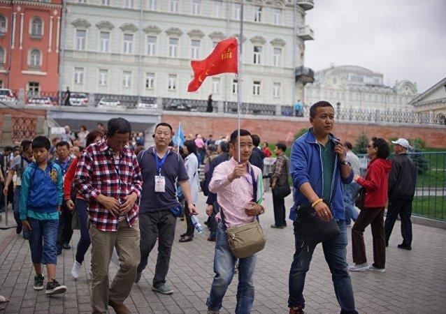 中国赴俄客流量增加51%,超过2013年同期
