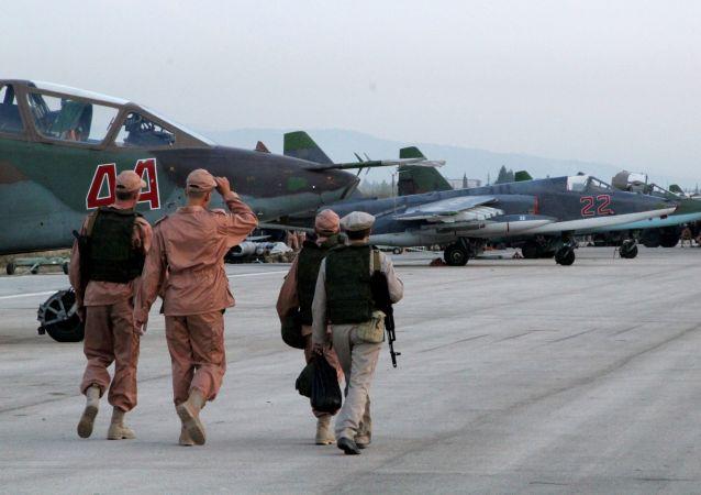 俄驻叙利亚赫梅米姆空军基地