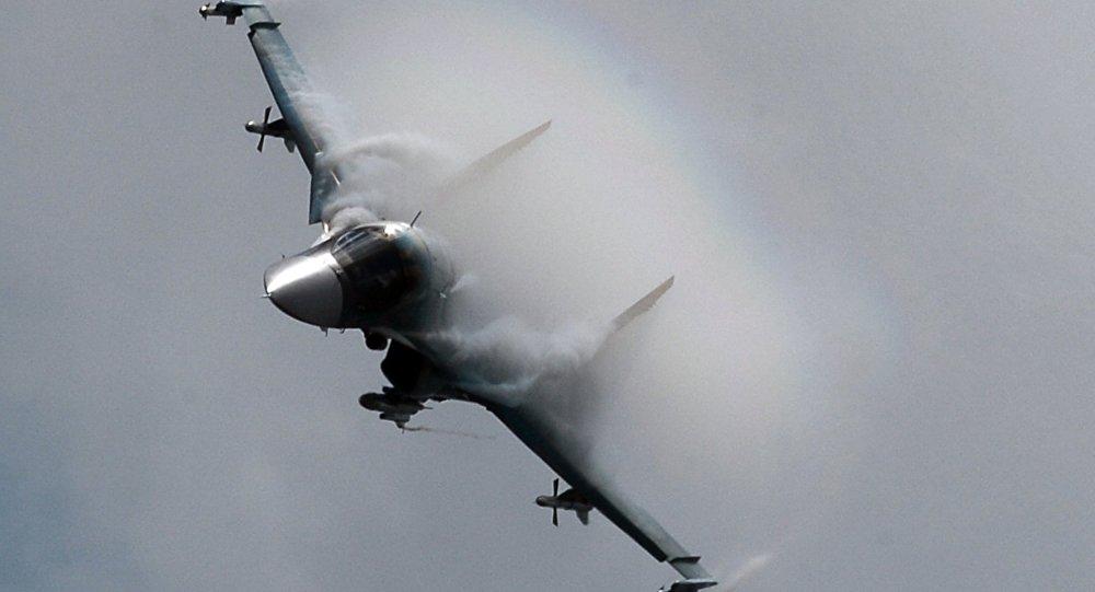 俄罗斯苏-34战机