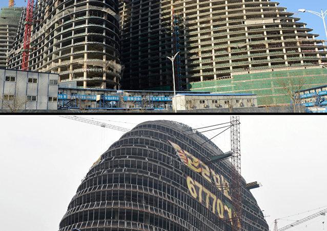 北京的望京SOHO