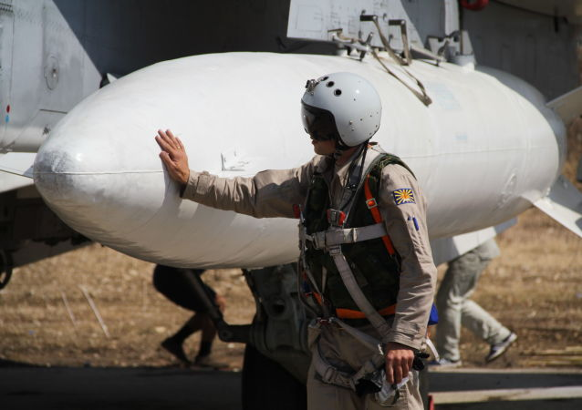 俄飞行员在叙利亚