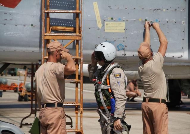 俄大使证实苏-24一名飞行员获救