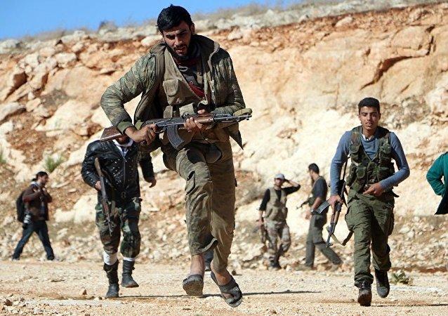 恐怖分子在叙利亚