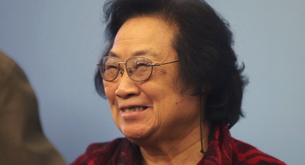 中国女科学家屠呦呦