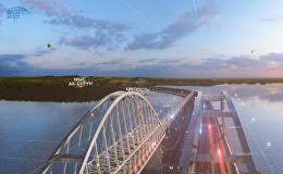 刻赤海峽通往克裡米亞的橋梁