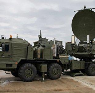 俄軍Krasukha-2大功率乾擾係統
