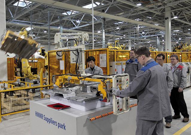 韩国工业园区在俄罗斯/资料图片/